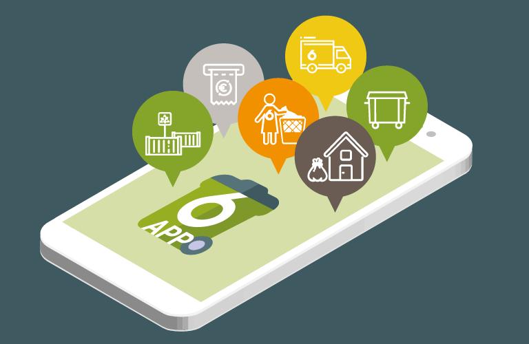 6App, l'app gratuita di Sei Toscana